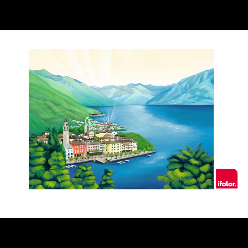 "Fotoleinwand ""Ascona"" ohne SOB-Logo 80 x 60 cm"