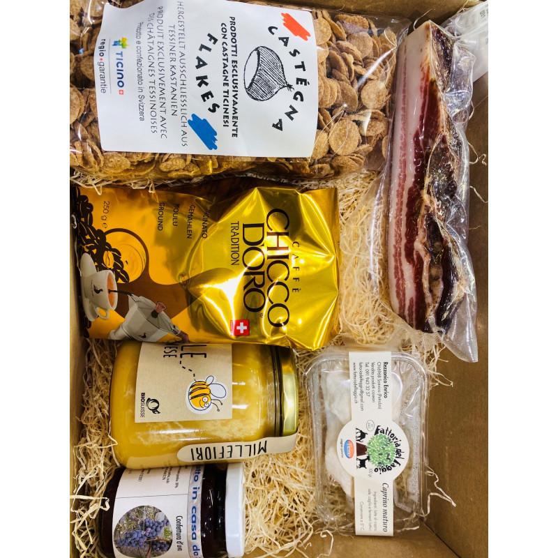 Tessiner-Geschenkkorb «Frühstück»