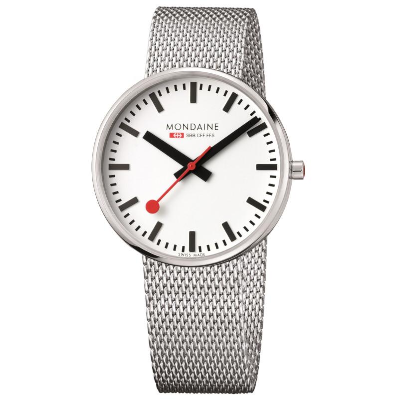 Armbanduhr Mondaine, Edelstahl