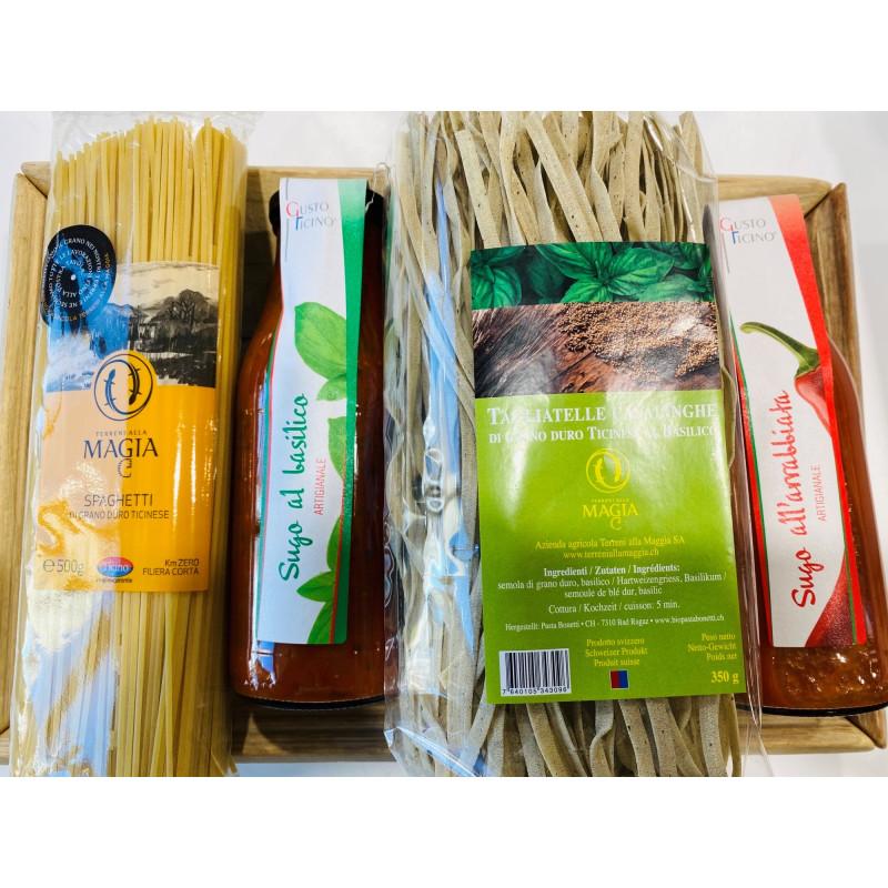 Tessiner-Geschenkkorb «Pasta»
